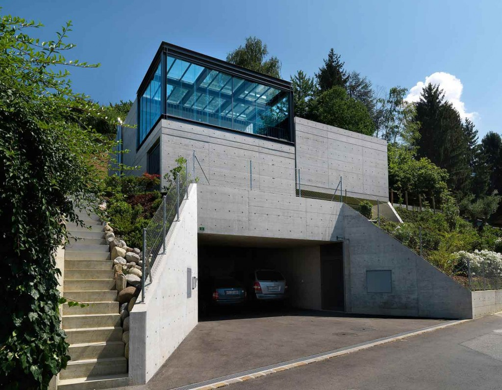 Davide macullo architects swiss house vii for Design hotel tessin